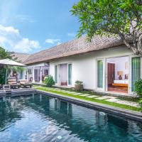 Three-Bedroom Palm Villa with Private Pool