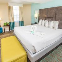 Suite with Three Beds and Whirlpool - Non-Smoking