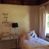 Two Connecting Thatched Double Rooms