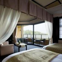 Twin Room with Tatami Area and Open-Air Bath