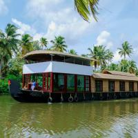 Premium A/C Double Room in Sharing Houseboat