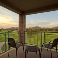 Non-Smoking King Suite with Golf Course View