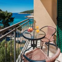 Comfort Double Room with Balcony and Side Sea View