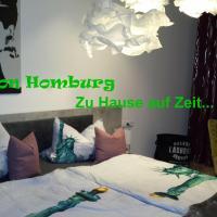 Maison Homburg, 3-Zimmer Ferienwohnung direkt an der Uni
