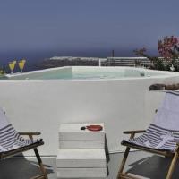Five Bedroom Villa with outdoor Hot Tub and Panoramic Caldera View