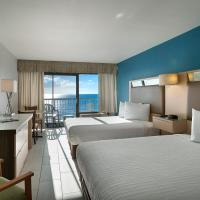 Oceanfront Queen Room with Two Queen Beds and Kitchenette