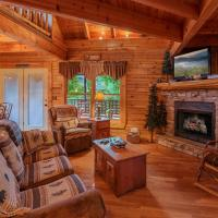 Fotografie hotelů: Un'Fir'gettable- Two-Bedroom Cabin, Pigeon Forge