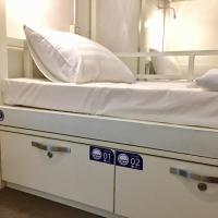 Single Bed in 8-Bed Male Dormitory Room (Sea Room)