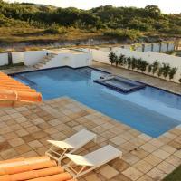 Hotel Pictures: Casa Palma Azul de praia com piscina, Touros