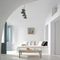 Deluxe Villa with Sea and Caldera View