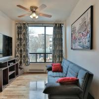 Urban 1-Bedroom Lachine Canal #103
