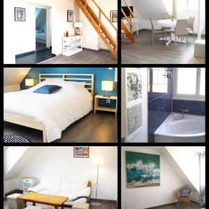 Hotel Pictures: Appartement Cosy Chic 3 Chambres, Dieppe
