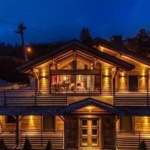 Hotel Pictures: House Chalet de prestige design et chaleureux, Isola 2000