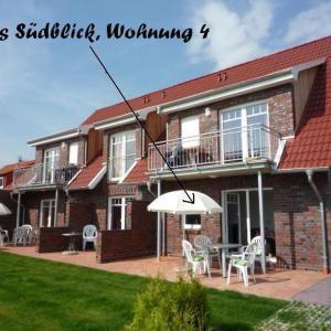 Hotelbilleder: Haus-Suedblick-Wohnung-4, Werdum