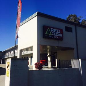 酒店图片: Red Cedar Motel, Muswellbrook
