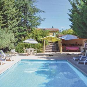 Hotel Pictures: Holiday Home La Bastide de Jourdans with Fireplace I, La Bastide-des-Jourdans