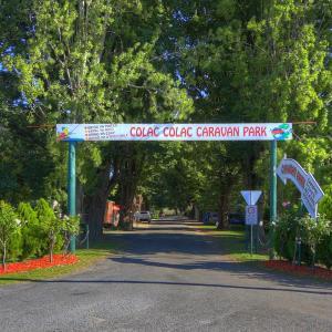 酒店图片: Colac Colac Caravan Park, Corryong