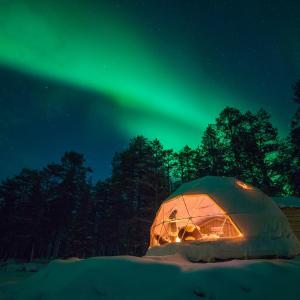 Hotel Pictures: Aurora Dome & Glamping, Muonio