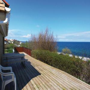 Hotel Pictures: Two-Bedroom Holiday home with Sea View in Sjællands Odde, Yderby