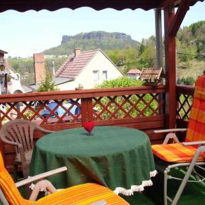 Hotelbilleder: _Haus am Stein_ fuer 2 Personen mi, Elbe