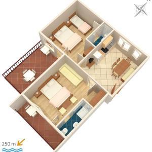 Hotelbilleder: Apartment Dramalj 2397b, Dramalj