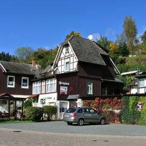 Hotelbilleder: Pension Felseneck Zur Bodehexe, Thale