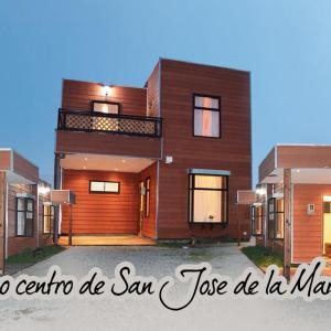 Фотографии отеля: Cabañas Aparthotel San José, San José de la Mariquina
