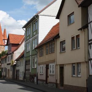 Hotelbilleder: Ferienwohnung beim Dünzebacher Torturm, Eschwege