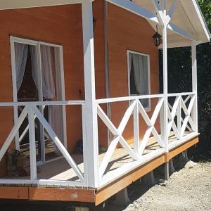 Фотографии отеля: Cabañas El Solitario, Huillinco