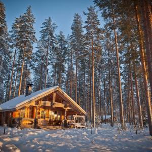 Hotel Pictures: Laukkala Cottages Reindeers & Husky, Haapalahti