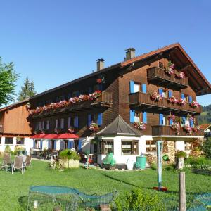 酒店图片: Pension Obermühle, Tannheim