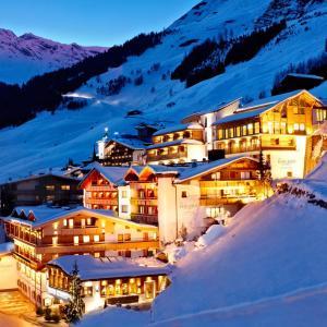 酒店图片: Hotel Berghof Crystal Spa & Sports, 图克斯