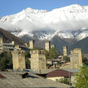 Hotellikuvia: Hotel Enguri, Etseri