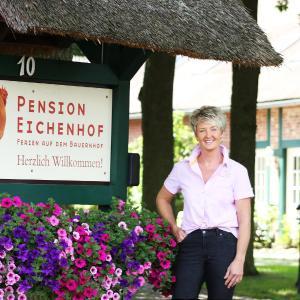 Hotelbilleder: Pension Eichenhof, Hellwege