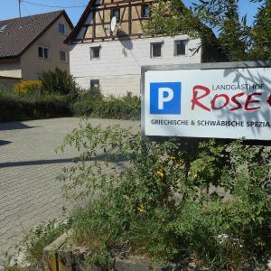 Hotelbilleder: Landgasthof Rose, Schöckingen