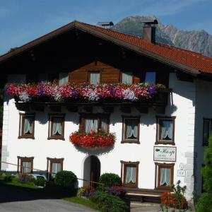 Фотографии отеля: Gästehaus Hosp, Обштайг