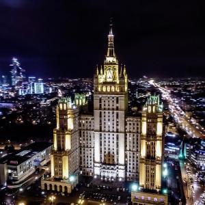 Фотографии отеля: Kudrinskaya Skyscraper Apartments, Москва