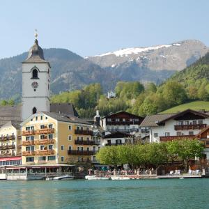 Hotel Pictures: Aberseeblick Pension Ellmauer, St. Wolfgang