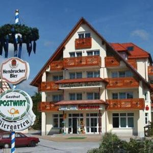 Hotelbilleder: Hotel-Landpension Postwirt, Kirchensittenbach