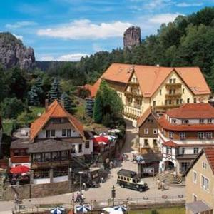 Hotelbilleder: Amselgrundschlösschen, Kurort Rathen