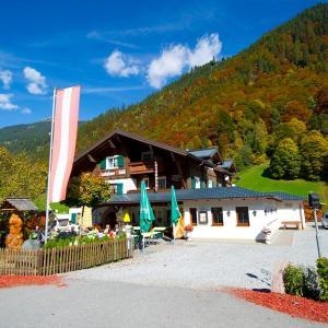 酒店图片: Alpengasthaus Muntafuner Stöbli, Sankt Gallenkirch
