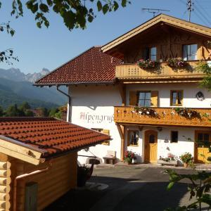 Hotel Pictures: Gästehaus Alpengruß, Wallgau
