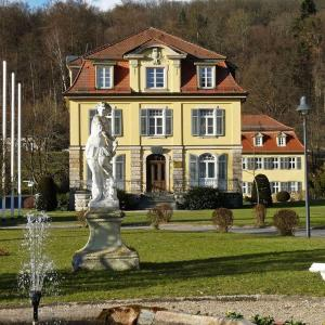 Hotelbilleder: Philosophenvilla, Staatsbad Brückenau