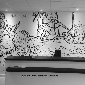 Hotel Pictures: Hôtel Les Colombes, Verdun-sur-Meuse
