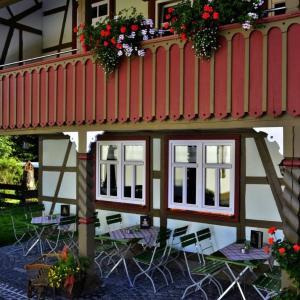 Hotel Pictures: Café im Hof, Streufdorf
