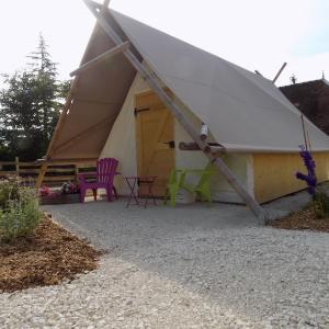 Hotel Pictures: La Tente du Chercheur d'Or, La Coudre