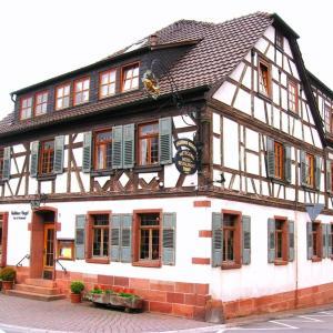 Hotelbilleder: Goldner Engel, Restaurant - Hotel - Metzgerei, Laudenbach