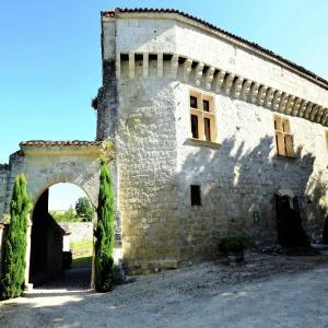 Hotel Pictures: Holiday home Chateau D Agen II, Saint-Caprais-de-Lerm