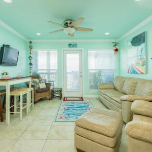 Foto Hotel: Beachfront Condo at Seascape Resort, Galveston
