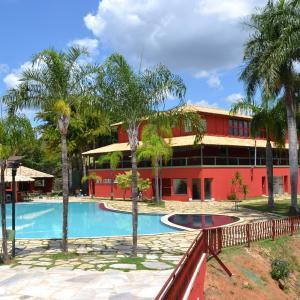 Hotel Pictures: Hotel Fazenda Santa Felicidade, Pitangui